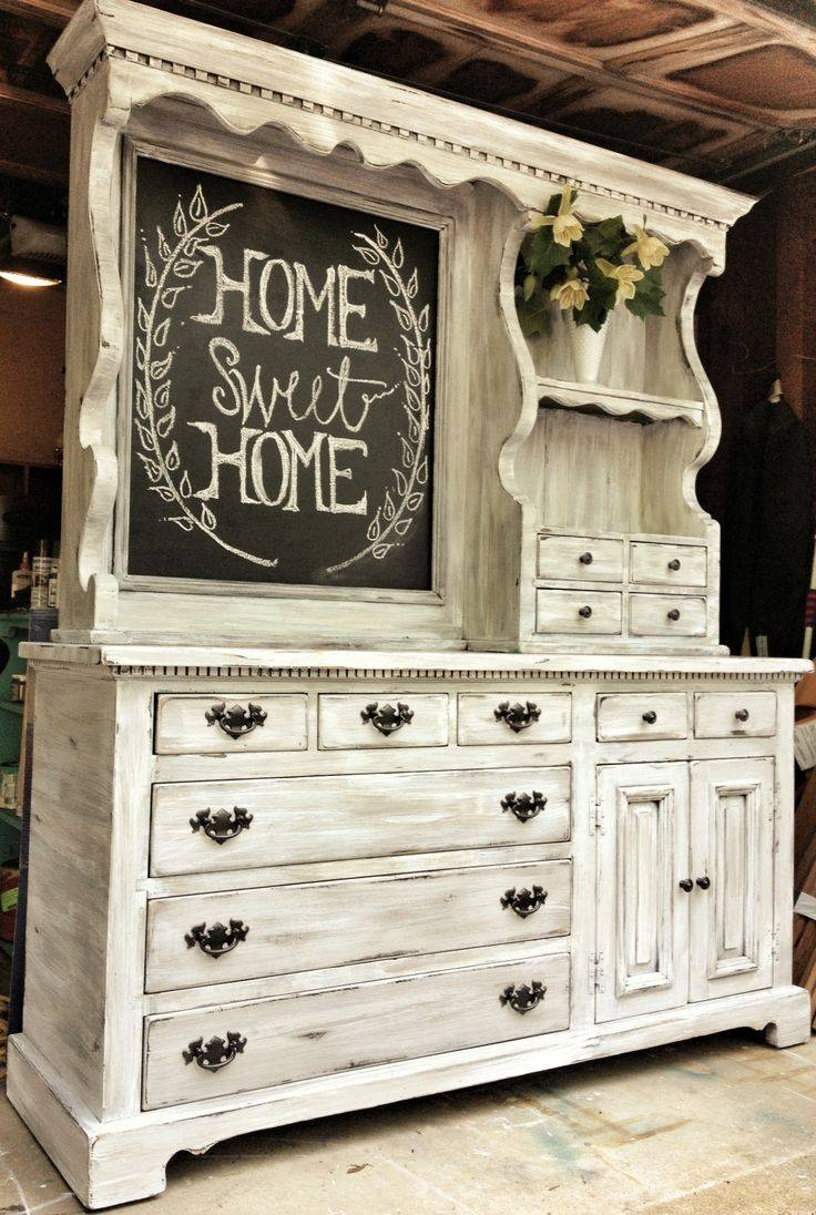 Best 25+ Distressed Furniture Ideas On Pinterest | Distressing pertaining to White Distressed Finish Sideboards (Image 9 of 30)