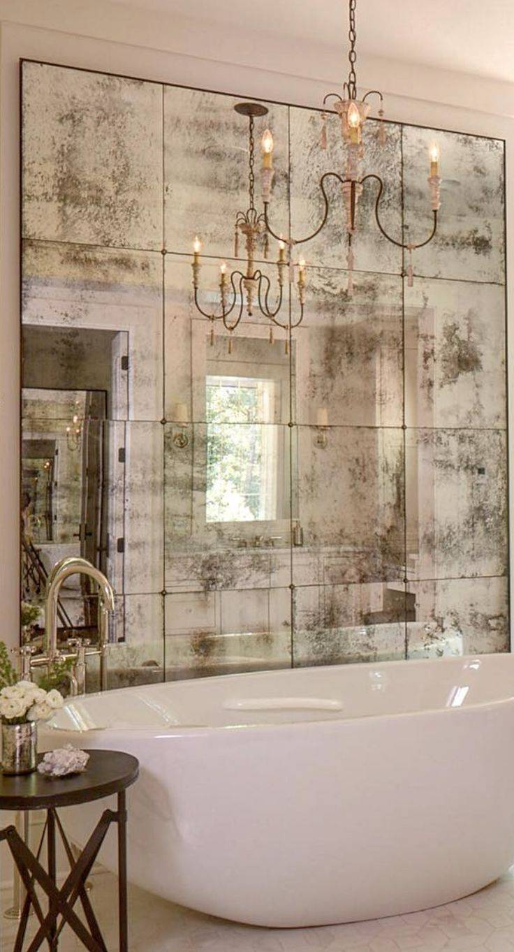 Best 25+ Distressed Mirror Ideas On Pinterest | Antiqued Mirror with regard to Vintage White Mirrors (Image 9 of 25)