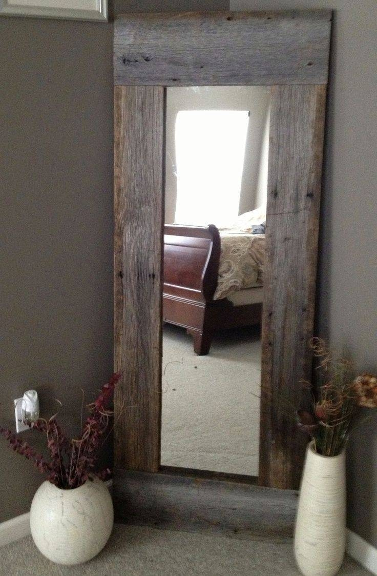 Best 25+ Diy Full Length Mirrors Ideas On Pinterest | Country Full throughout Large Floor Length Mirrors (Image 5 of 25)