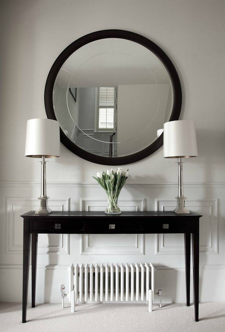 Best 25+ Entrance Hall Tables Ideas On Pinterest | Entry Hall inside Contemporary Hall Mirrors (Image 5 of 25)
