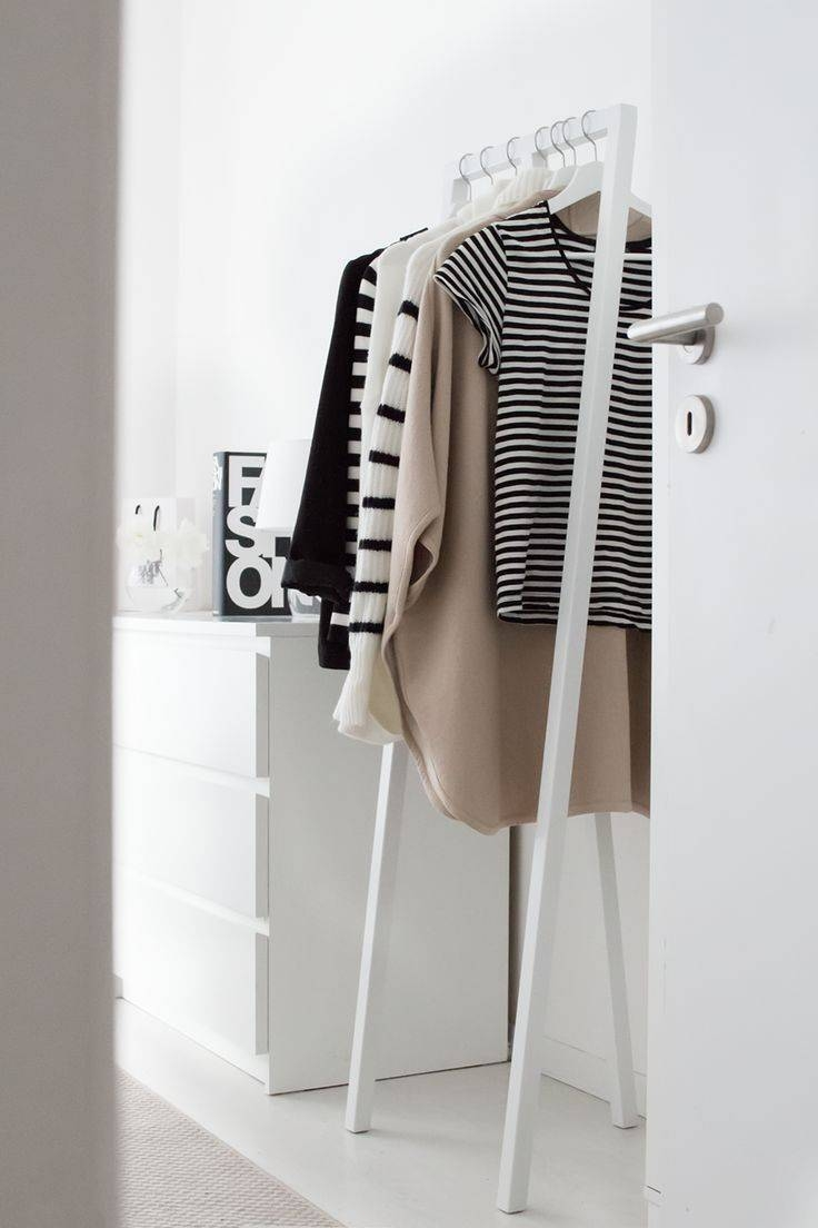 Best 25+ Exposed Closet Ideas Only On Pinterest | Open Wardrobe in Double Black Covered Tidy Rail Wardrobes (Image 6 of 30)