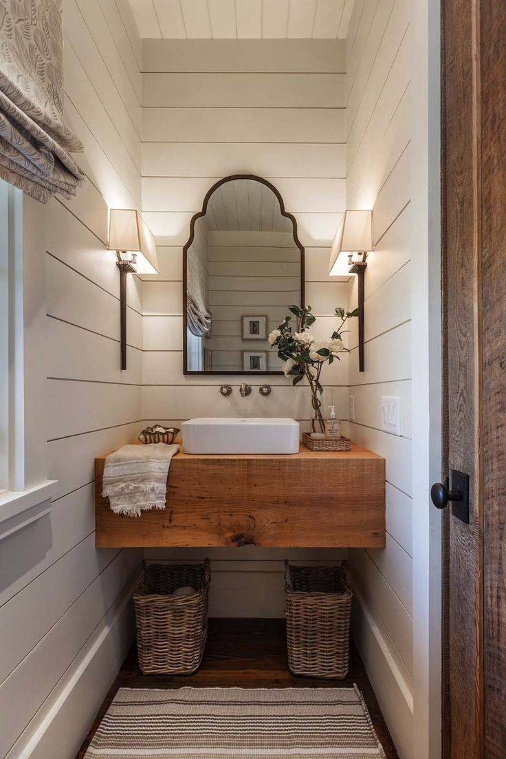 Best 25+ Farm Style Bathrooms Ideas On Pinterest | Farm Style with Vintage Style Bathroom Mirrors (Image 9 of 25)