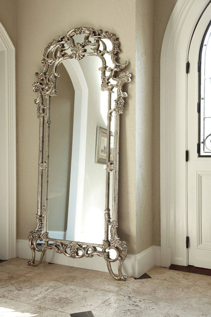 Best 25+ Floor Mirrors Ideas On Pinterest | Large Floor Mirrors regarding Silver Floor Standing Mirrors (Image 6 of 25)