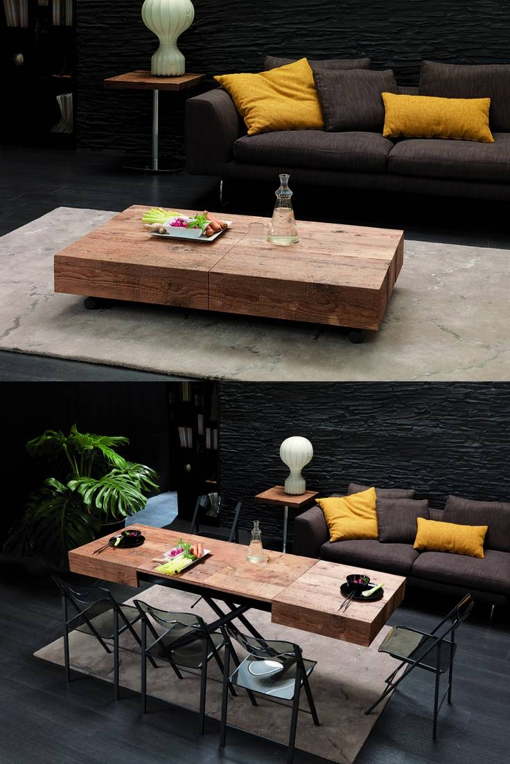 Best 25+ Folding Coffee Table Ideas That You Will Like On regarding Coffee Table To Dining Table (Image 6 of 30)