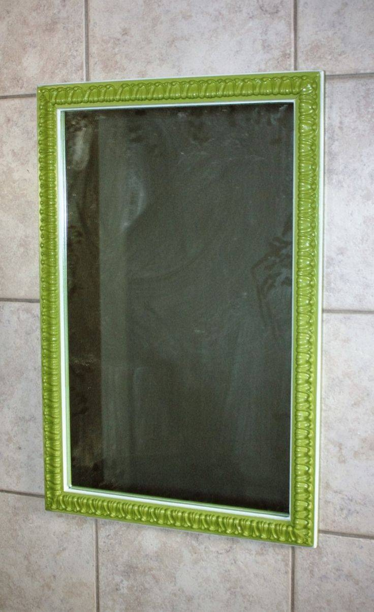 Best 25+ Green Framed Mirrors Ideas On Pinterest | Farmhouse Kids with regard to Retro Wall Mirrors (Image 7 of 25)