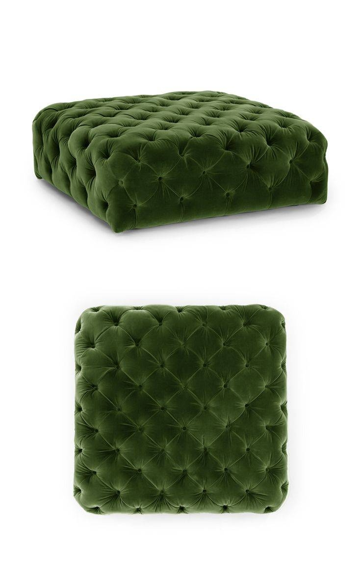 Best 25+ Green Ottoman Ideas On Pinterest | Green Library intended for Green Ottoman Coffee Tables (Image 2 of 30)