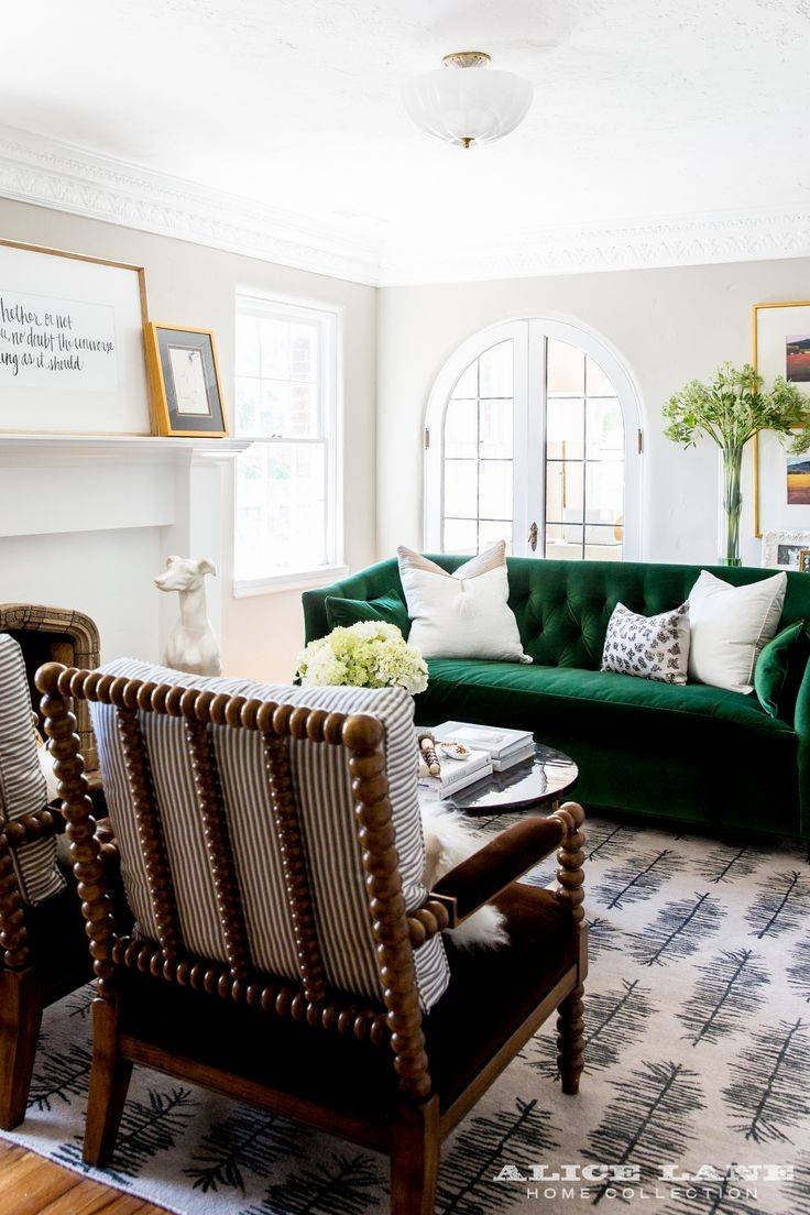Best 25+ Green Sofa Ideas On Pinterest | Green Living Room Sofas in Green Sofa Chairs (Image 9 of 30)