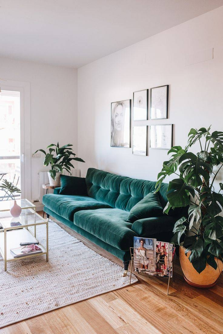 Best 25+ Green Sofa Ideas On Pinterest | Green Living Room Sofas regarding Green Sofa Chairs (Image 11 of 30)