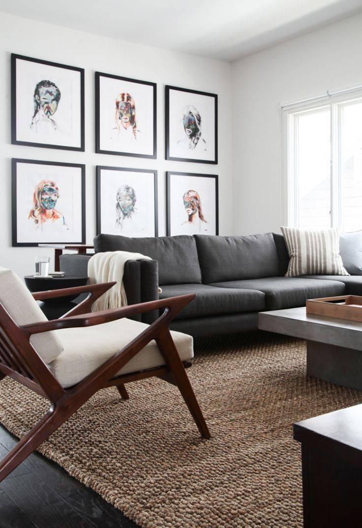 Best 25+ Grey Sofa Decor Ideas On Pinterest | Grey Sofas, Gray pertaining to White And Black Sofas (Image 6 of 30)