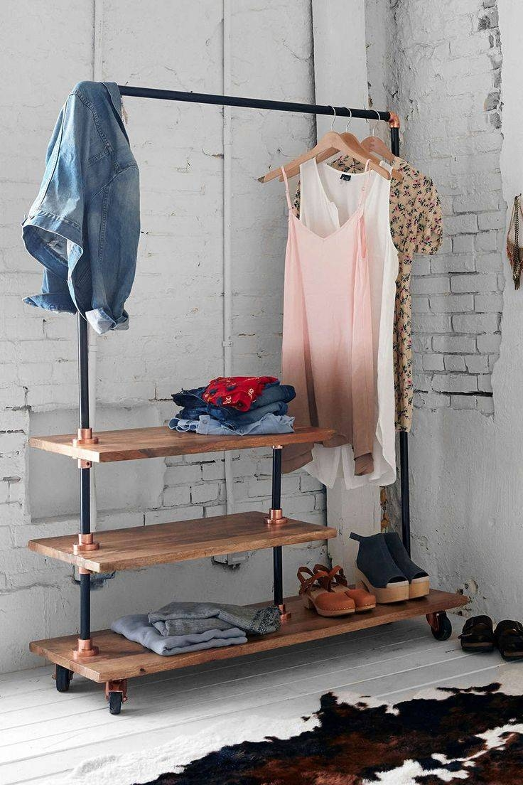 Best 25+ Industrial Storage Racks Ideas On Pinterest | Industrial in Industrial Style Wardrobes (Image 2 of 15)