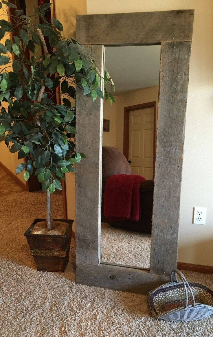 Best 25+ Large Standing Mirror Ideas On Pinterest | Floor Mirrors in Huge Full Length Mirrors (Image 9 of 25)