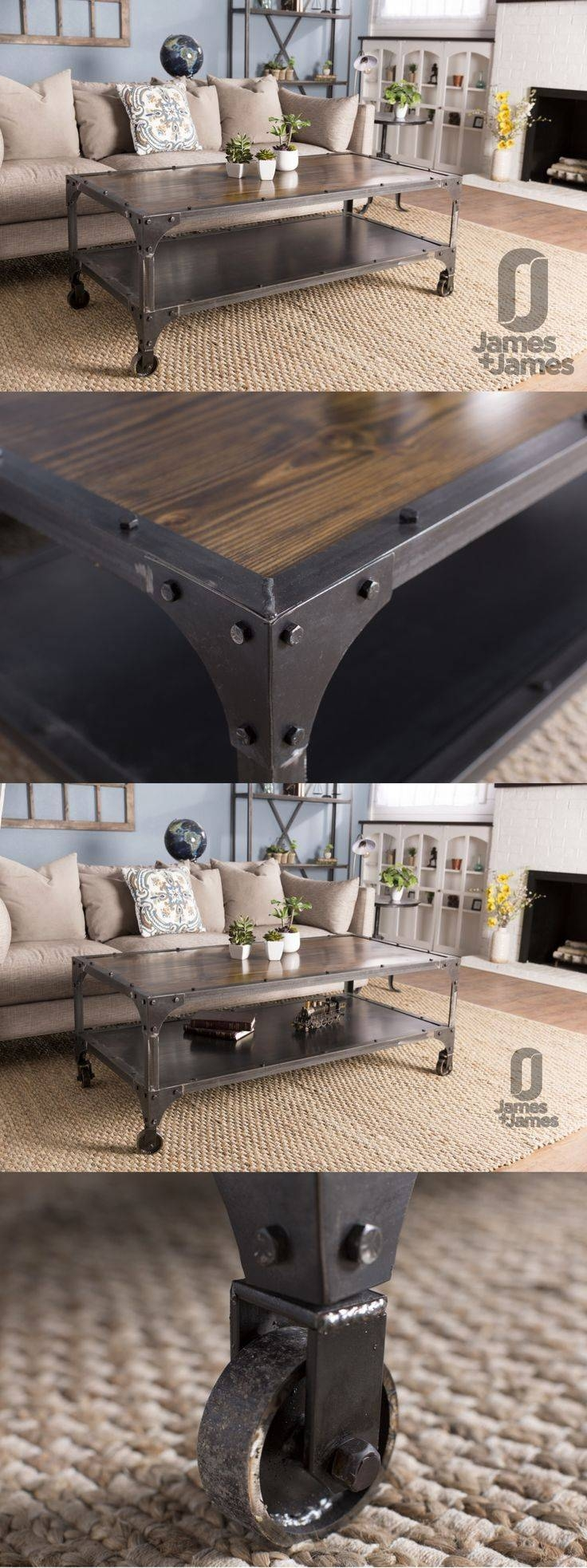 Best 25+ Metal Coffee Tables Ideas On Pinterest | Best Coffee in Retro Glitz Glass Coffee Tables (Image 4 of 30)