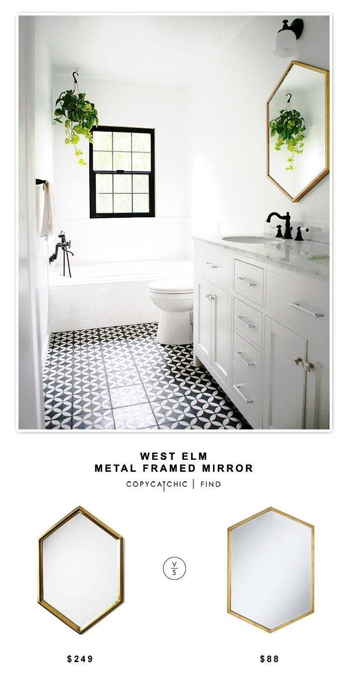 Best 25+ Metal Mirror Ideas Only On Pinterest | Copper Mirror in White Metal Mirrors (Image 5 of 25)