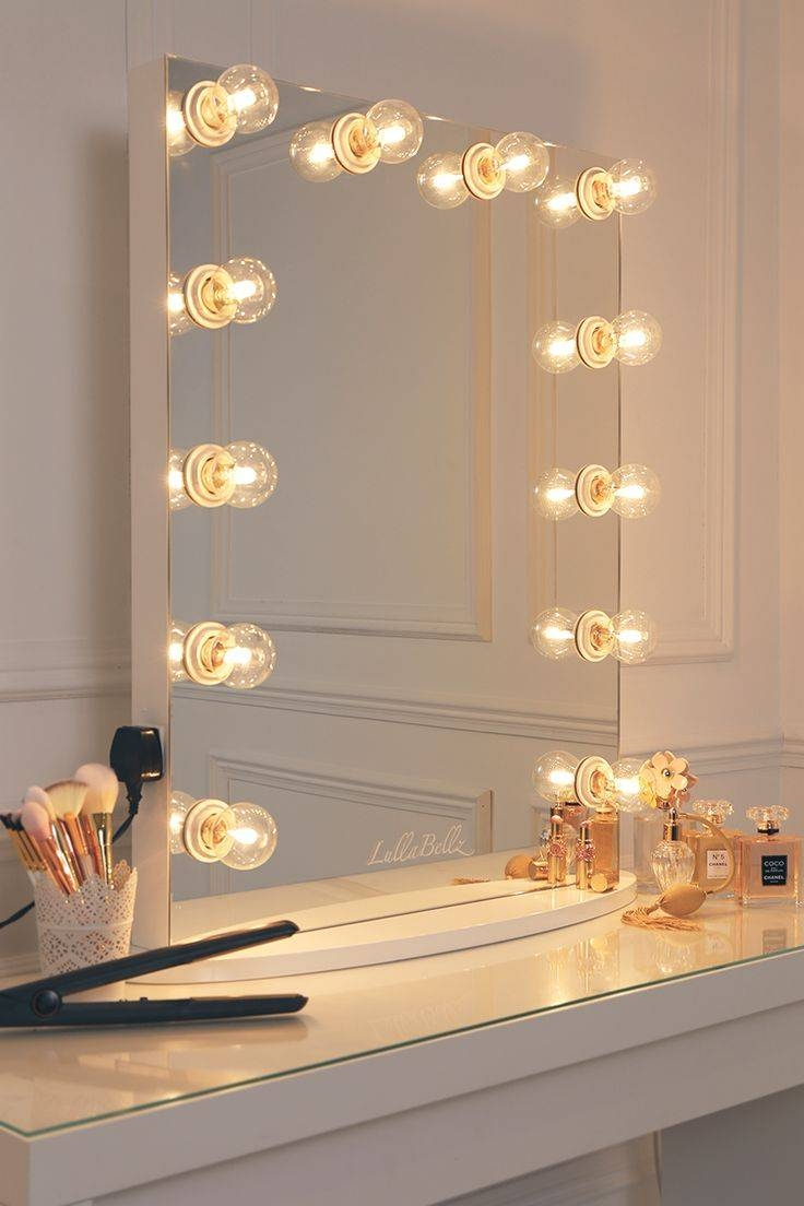 Best 25+ Mirror With Lights Ideas Only On Pinterest | Mirror pertaining to Glitzy Mirrors (Image 16 of 25)