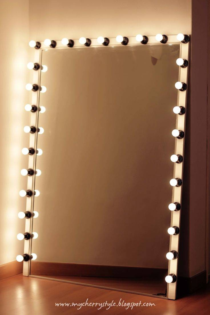 Best 25+ Mirror With Lights Ideas Only On Pinterest | Mirror throughout Long Brown Mirrors (Image 9 of 25)