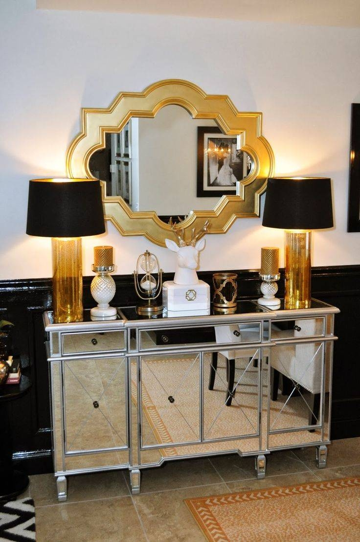 Best 25+ Mirrored Sideboard Ideas On Pinterest | Dining Room intended for White Mirrored Sideboards (Image 3 of 30)
