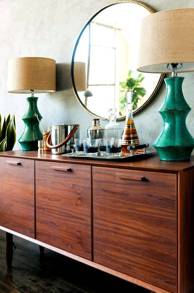 Best 25+ Mirrored Sideboard Ideas On Pinterest | Dining Room Pertaining To Sideboards With Lamps (View 6 of 30)