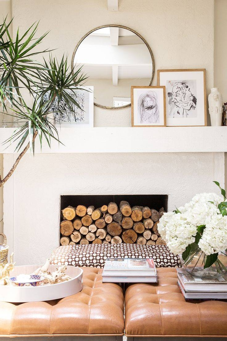 Best 25+ Modern Mantle Ideas On Pinterest | Modern Fireplace throughout Mirrors for Mantle (Image 11 of 25)
