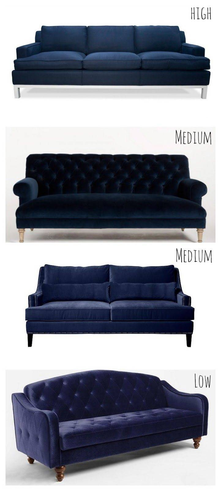 Best 25+ Navy Blue Sofa Ideas On Pinterest | Navy Blue Couches within Dark Blue Sofas (Image 3 of 30)