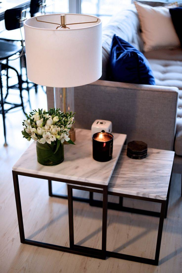 Best 25+ Nesting Tables Ideas On Pinterest | Painted Nesting pertaining to Mercury Glass Coffee Tables (Image 8 of 30)