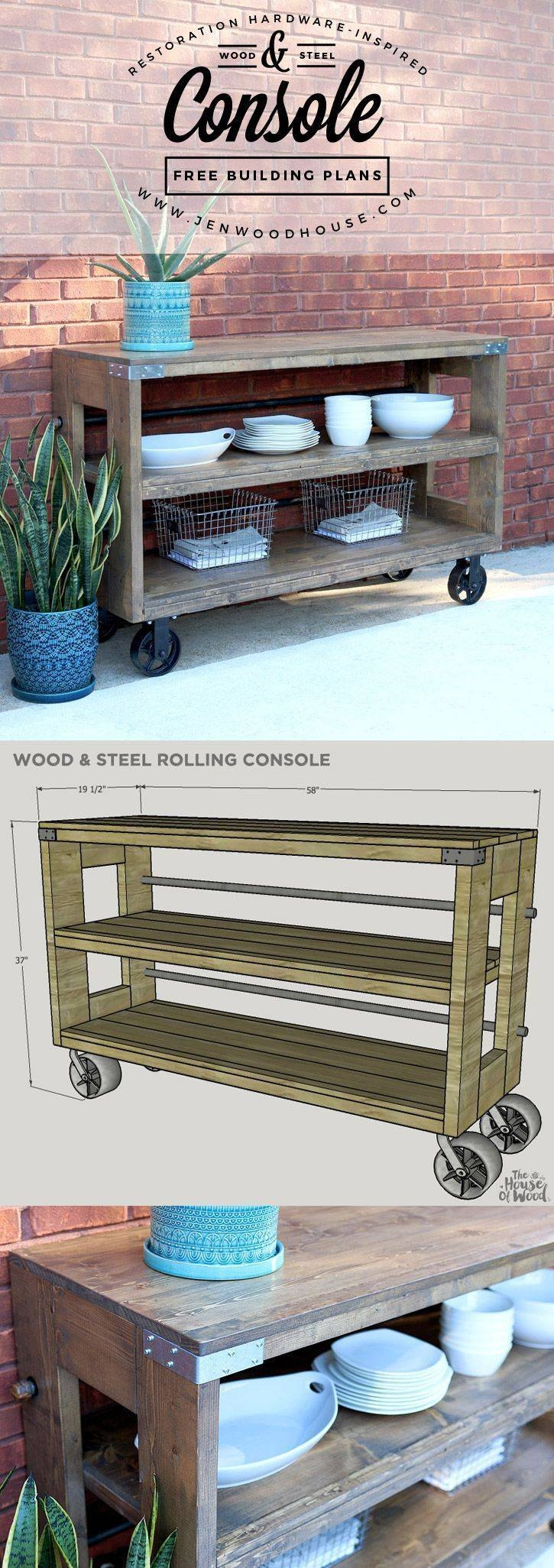 Best 25+ Outdoor Console Table Ideas Only On Pinterest | Diy Sofa with regard to Patio Sofa Tables (Image 9 of 30)