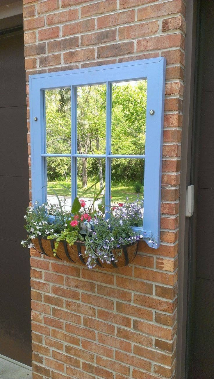 Best 25+ Outdoor Mirror Ideas On Pinterest | Garden Mirrors inside Garden Wall Mirrors (Image 15 of 25)