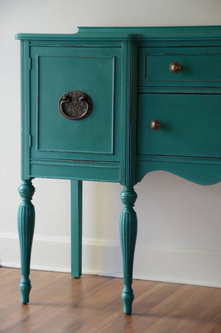 Best 25+ Painted Sideboard Ideas On Pinterest | Mid Century Modern intended for Dark Sideboards Furniture (Image 5 of 30)