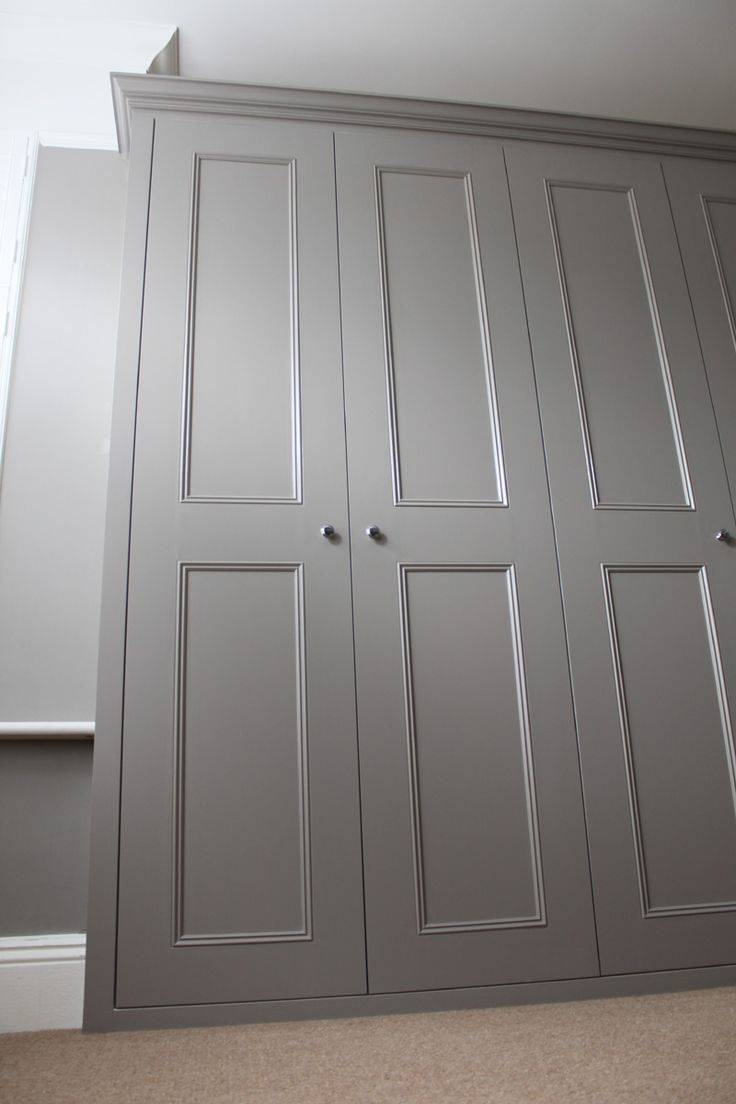 Best 25+ Painted Wardrobe Ideas On Pinterest | Yellow Cupboards throughout Grey Painted Wardrobes (Image 2 of 15)