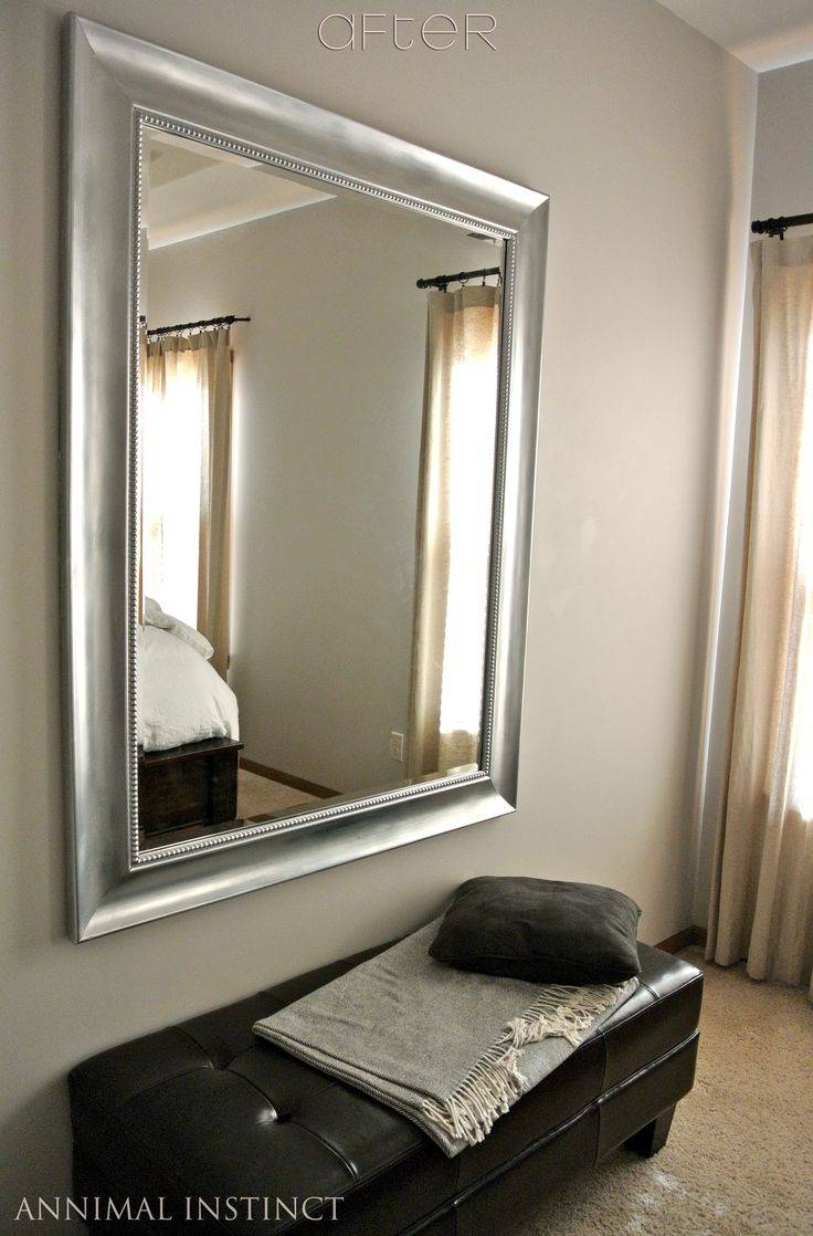 Best 25+ Painting Mirrors Ideas On Pinterest | Chalk Paint Mirror Intended For Black Faux Leather Mirrors (View 6 of 25)