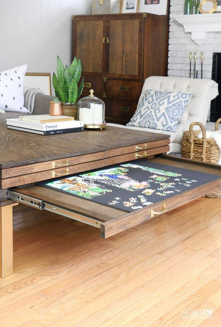 Best 25+ Puzzle Table Ideas On Pinterest | Puzzle Board, Jigsaw for Puzzle Coffee Tables (Image 9 of 30)