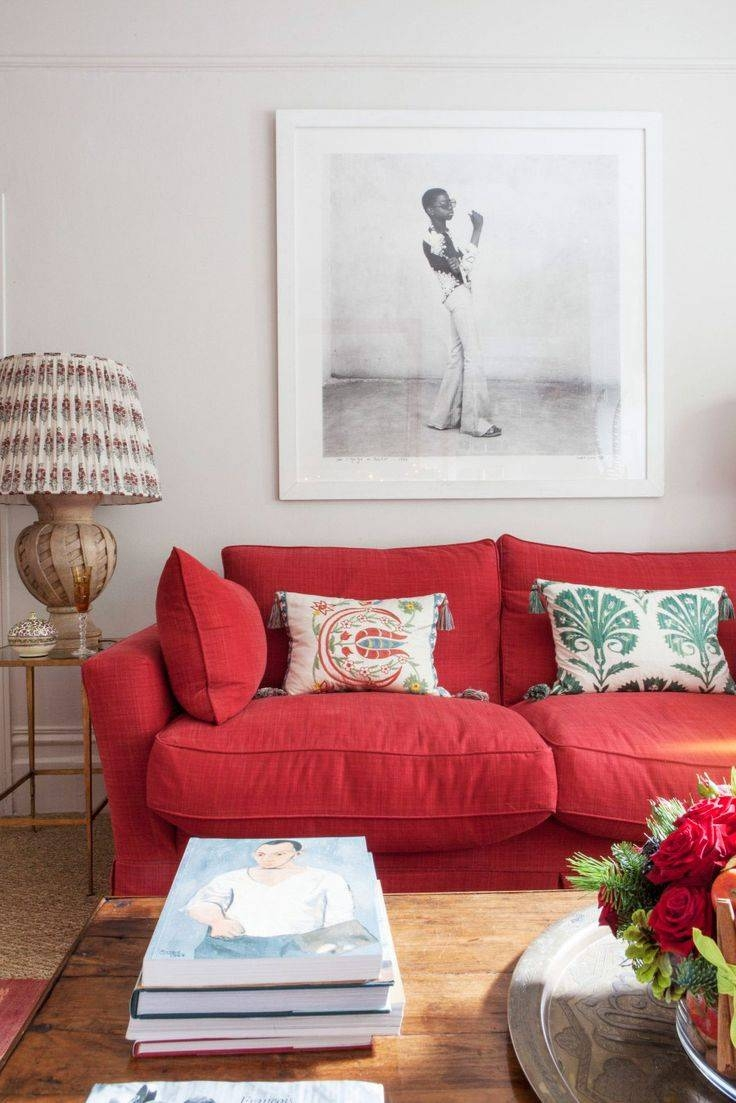 Best 25+ Red Couch Rooms Ideas On Pinterest | Red Couch Living intended for Red Sofa Chairs (Image 5 of 30)