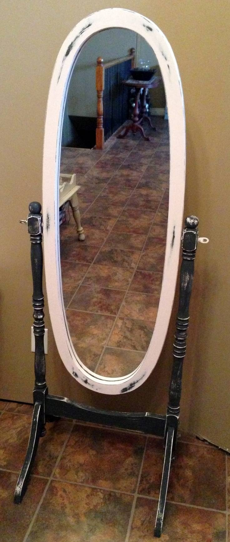 Best 25+ Redo Mirror Ideas On Pinterest | Bathroom Mirror Redo in Oval Freestanding Mirrors (Image 6 of 25)