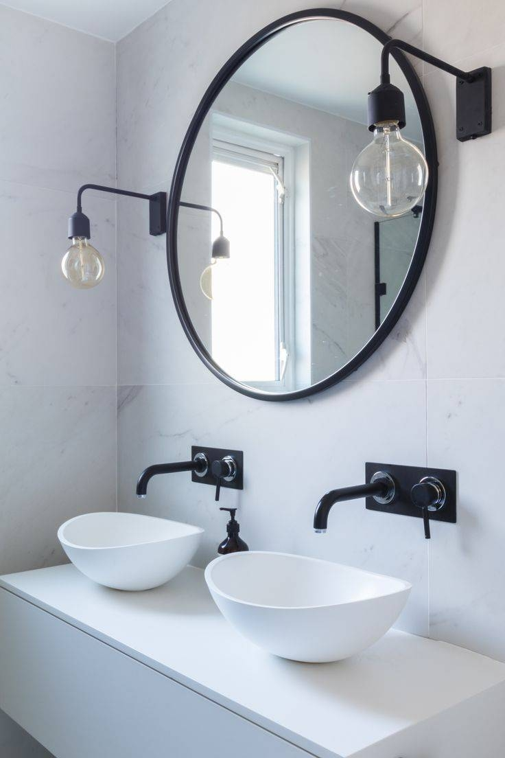 Best 25+ Round Wall Mirror Ideas On Pinterest | Large Round Wall with Round Black Mirrors (Image 4 of 25)