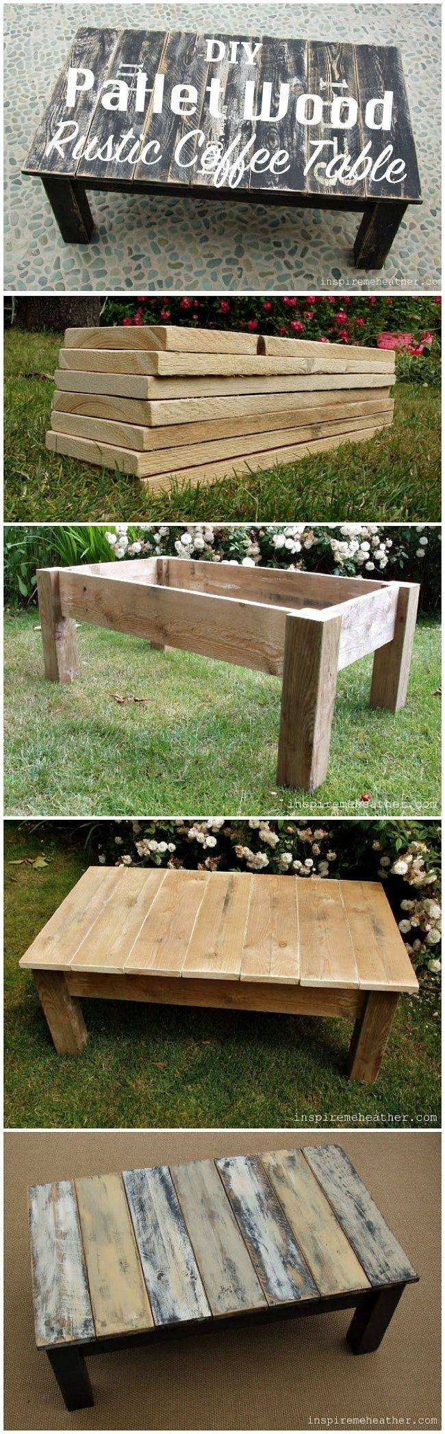 Best 25+ Rustic Coffee Tables Ideas On Pinterest | House Furniture intended for Rustic Wood Diy Coffee Tables (Image 7 of 30)