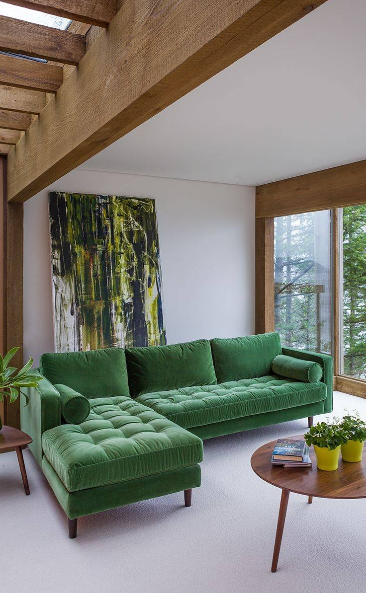 Best 25+ Sectional Sofas Ideas On Pinterest | Big Couch, Couch in Green Sectional Sofa (Image 7 of 30)