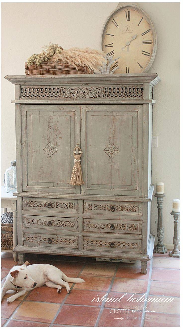 Best 25+ Shabby Chic Furniture Ideas Only On Pinterest | Shabby Throughout French Shabby Chic Wardrobes (View 10 of 15)