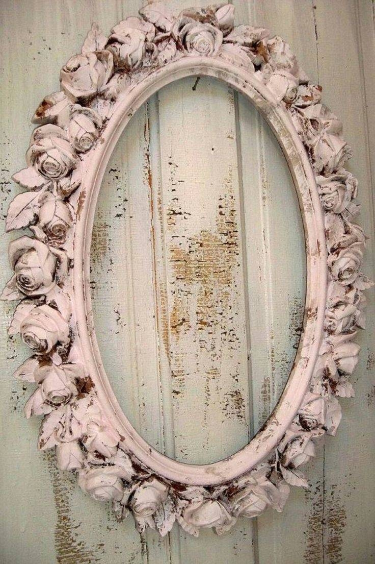 Best 25+ Shabby Chic Mirror Ideas On Pinterest | Shaby Chic regarding Oval Shabby Chic Mirrors (Image 6 of 25)