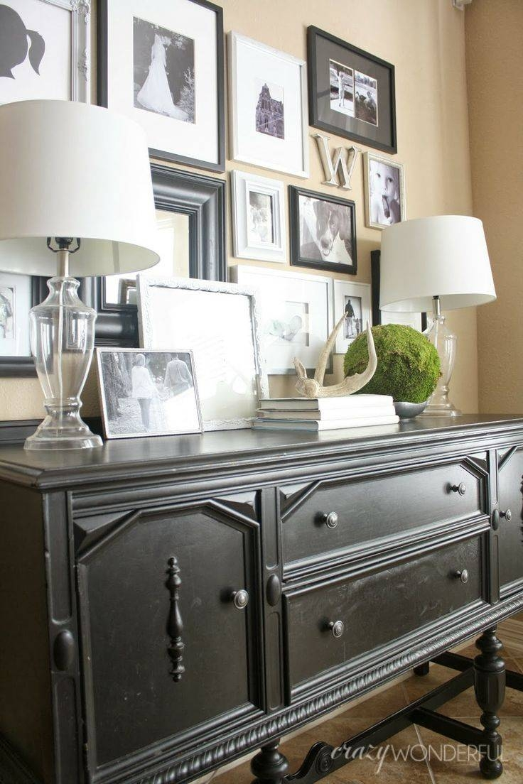 Best 25+ Sideboard Decor Ideas On Pinterest | Entry Table with regard to Modern Living Room Sideboards (Image 9 of 30)