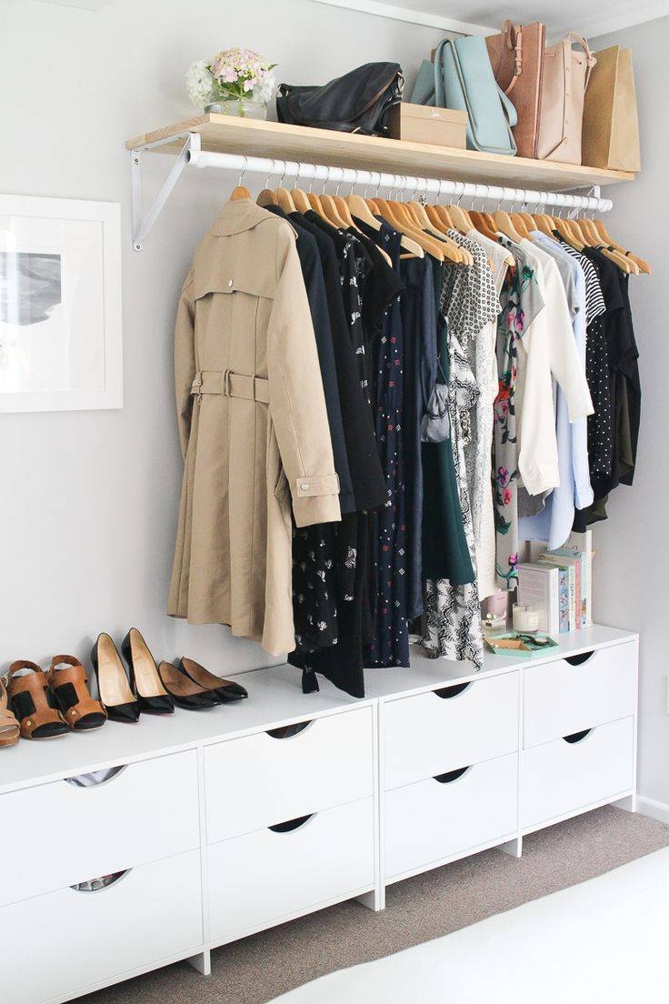 Best 25+ Small Wardrobe Ideas On Pinterest | Small Closet Design Regarding Small Wardrobes (View 5 of 15)
