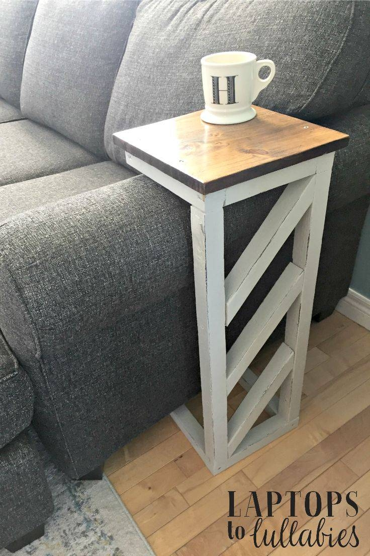 Best 25+ Sofa Side Table Ideas That You Will Like On Pinterest intended for Sofa Drink Tables (Image 7 of 30)
