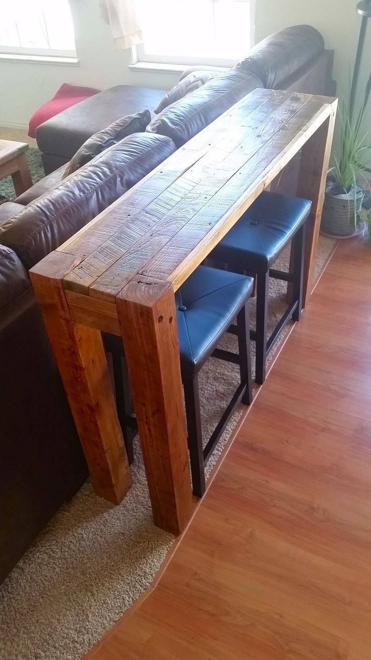 Best 25+ Table Behind Couch Ideas On Pinterest | Behind Sofa Table regarding Low Sofa Tables (Image 4 of 30)