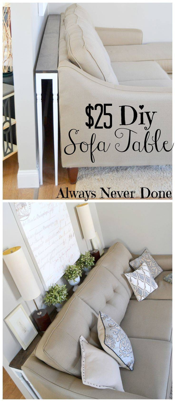 Best 25+ Table Behind Couch Ideas On Pinterest | Behind Sofa Table with Sofa Drink Tables (Image 9 of 30)