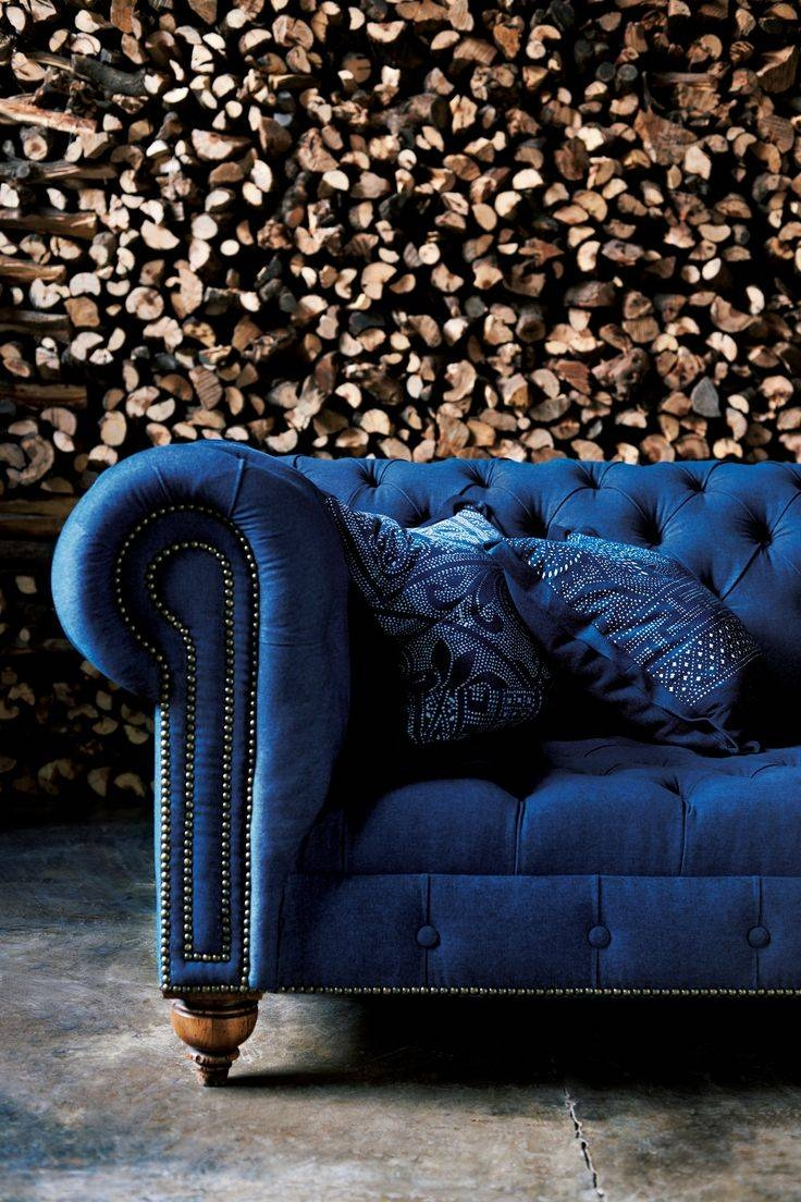Featured Photo of Blue Tufted Sofas