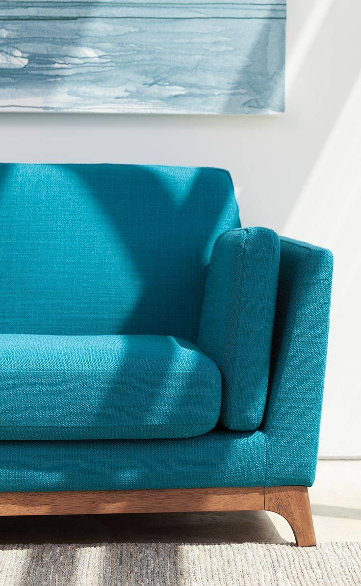 Best 25+ Turquoise Couch Ideas Only On Pinterest | Turquoise Sofa for Blue Sofa Chairs (Image 9 of 30)