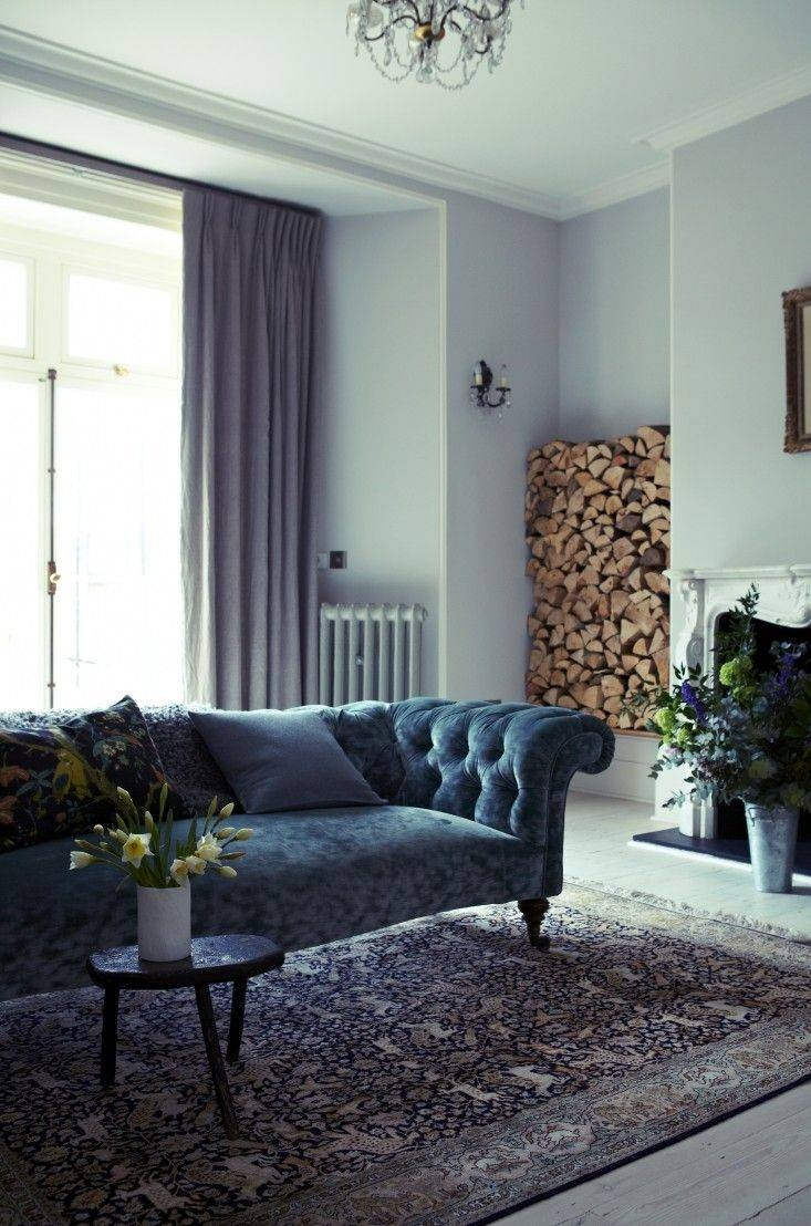 Best 25+ Velvet Chesterfield Sofa Ideas On Pinterest pertaining to Chintz Sofas (Image 10 of 22)