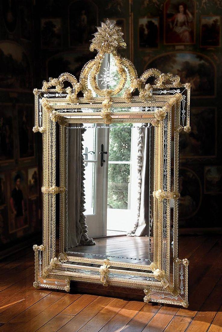 Best 25+ Venetian Mirrors Ideas On Pinterest | Elegant Glam Powder For Old Style Mirrors (View 9 of 25)