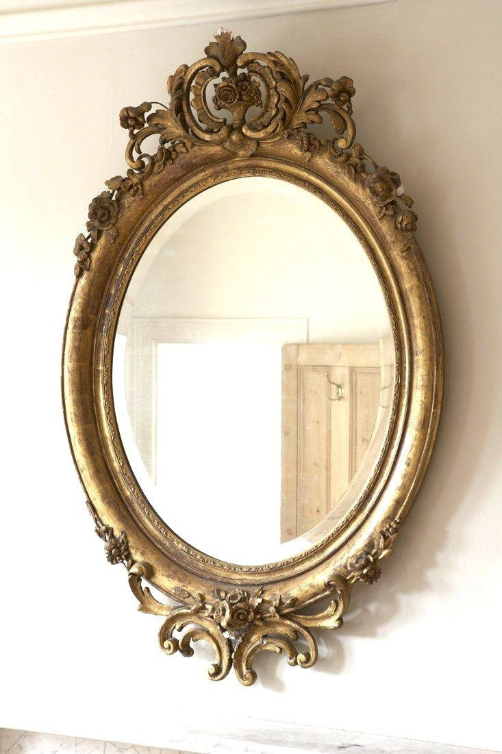 Best 25+ Victorian Mirror Ideas On Pinterest | Victorian Floor intended for Oval Shabby Chic Mirrors (Image 7 of 25)