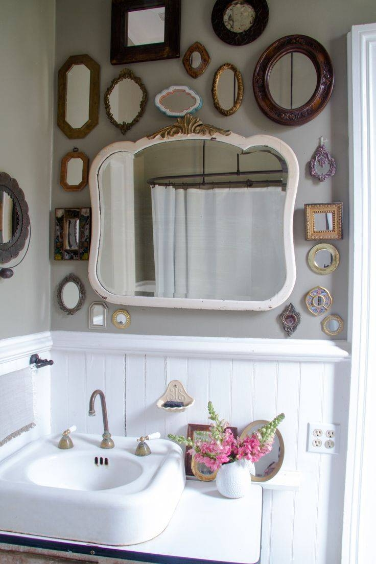 Best 25+ Vintage Bathroom Mirrors Ideas On Pinterest | Basement with White Antique Mirrors (Image 14 of 25)