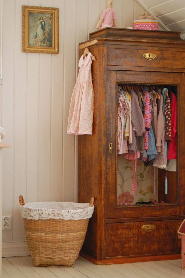Best 25+ Vintage Wardrobe Ideas That You Will Like On Pinterest Throughout Old Fashioned Wardrobes (View 7 of 15)