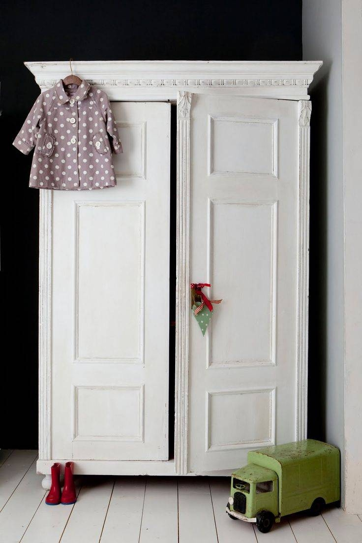 Best 25+ Vintage Wardrobe Ideas That You Will Like On Pinterest throughout White Antique Wardrobes (Image 4 of 15)